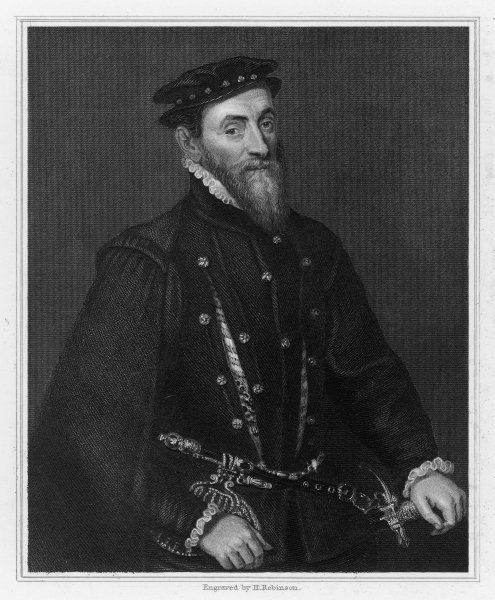 SIR THOMAS GRESHAM English financier who built the Royal Exchange and founded Gresham College