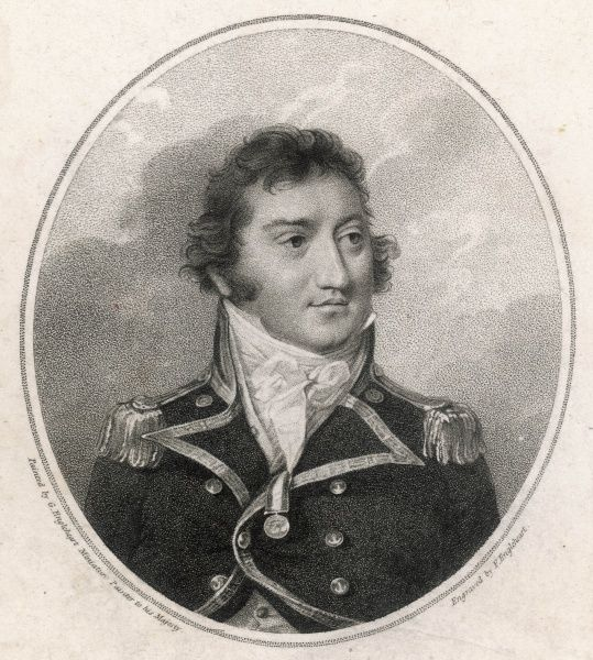 SIR THOMAS BOULDEN THOMPSON naval commander, captain of the 'Leander&#39