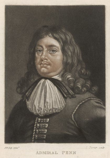 SIR WILLIAM PENN Parliamentary admiral