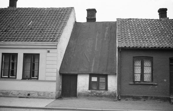 The smallest house at Landskrona. 1935 Date: 1935