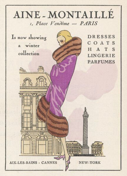 A smart winter coat by Aine- Montaille of the place Vendome