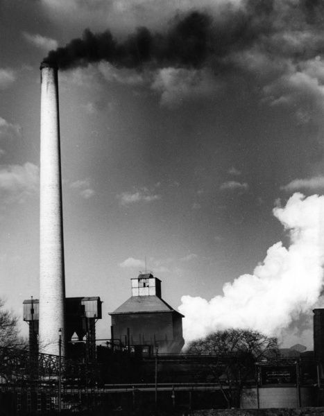 Coke Ovens and By-Product plant at Derwenthaugh, near Newcastle-upon-Tyne, England. Date: 1960s