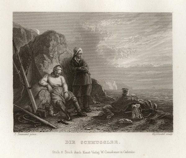 Smugglers. Date: 1833