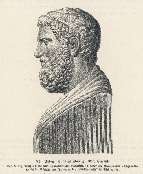 SOLON Greek statesman and lawgiver