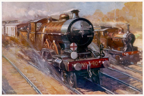 The London to Brighton express is made up of five to seven Pullman coaches, and covers the 81 kilometres in less than 60 minutes