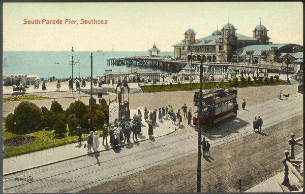Southsea, Hampshire: South Parade Pier