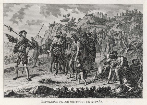 The Moors are expelled from Spain