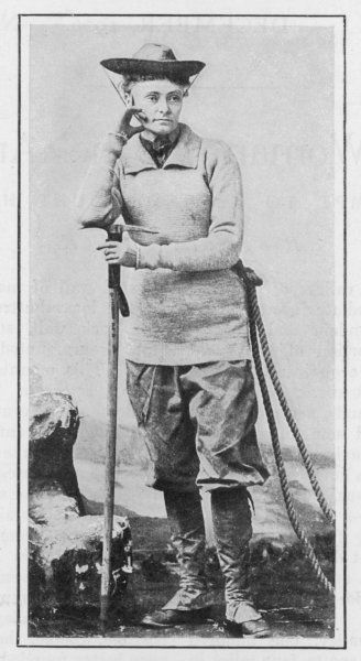 ANNIE PECK The American climber who attempted many dangerous ascents in the Andes