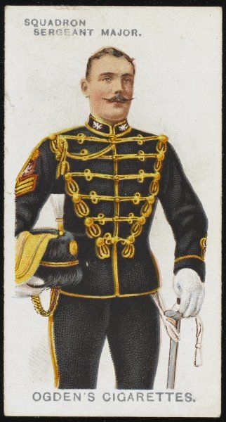 A Squadron Sergeant Major from the 14th Hussars. (King's), raised in 1715