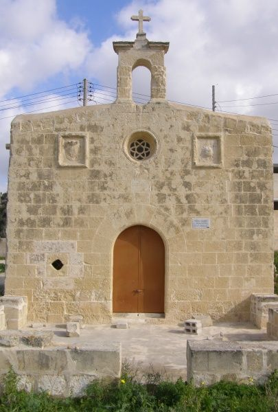 St Catherine's chapel, near Mosta Fort, outskirts of Mosta, Malta