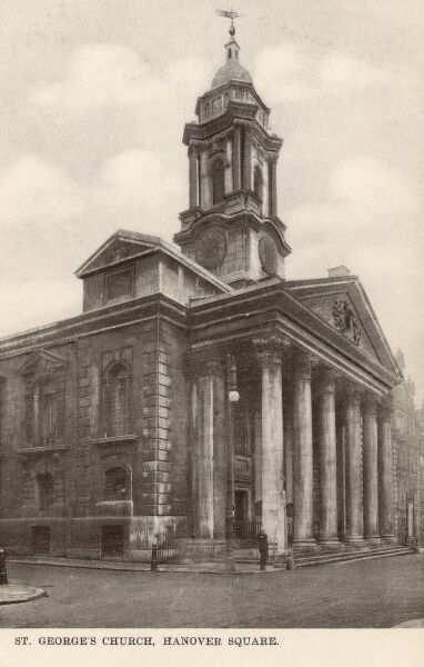 St George's Church - Hanover Square Date: 1910s