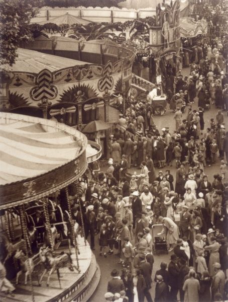 St. Giles Fair, Oxford (photographed from the helter-skelter)