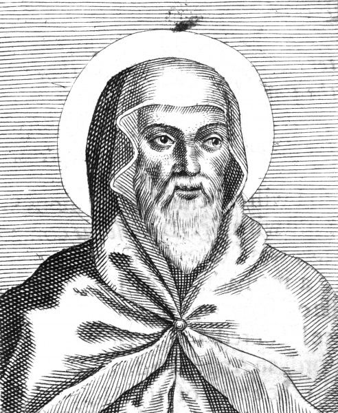 SAINT ISIDORE (ISIDRO) of Seville Spanish prelate and scholar, considered the most learned man of his day Date: circa 560 - 636