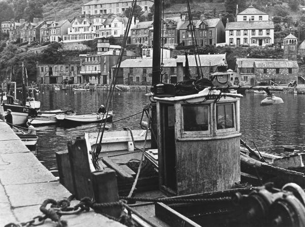 Boats in the harbour of St Ives, Cornwall