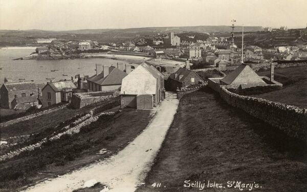 St Marys - Scilly Isles Date: 1920s