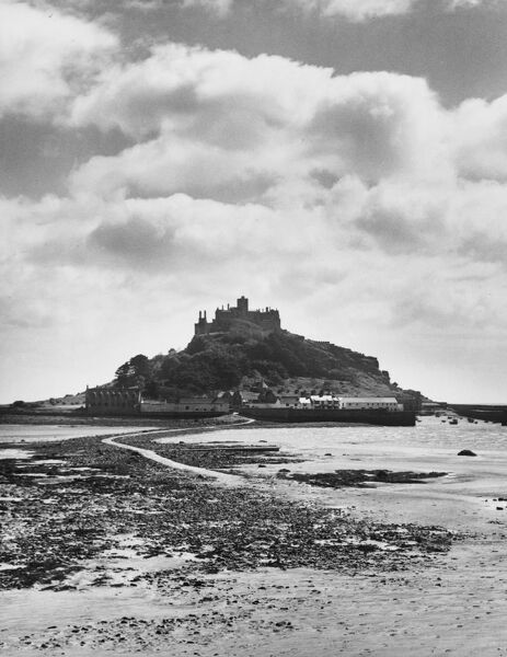 St. Michael's Mount, Cornwall, England. Edward the Confessor granted it to the Benedictine monks, who built an Abbey and a Priory on the summit
