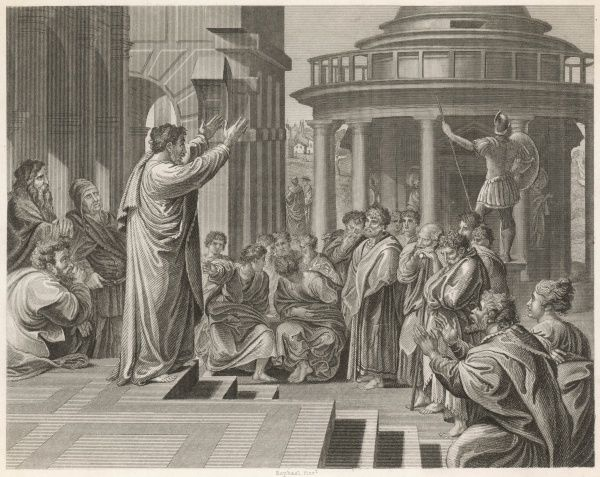 """a discussion pauls preaching in athens Discussion to summarize, the two sermons are very close in structure and in content van til, paul at athens, """"the frame of reference"""", p15,16 [49] bruce."""