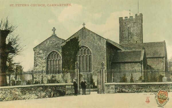 St. Peter's Church, Carmarthen, Wales