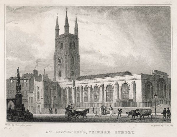St Sepulchre's Church, Skinner Street (Snow Hill, Holborn Viaduct)