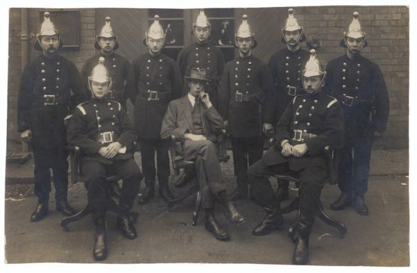 The Lotus Fire Brigade, Stafford - group photograph