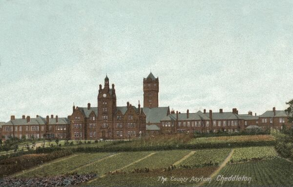 The Staffordshire County Lunatic Asylum was established in 1898 on Cheadle Road, Cheddleton, near Leek