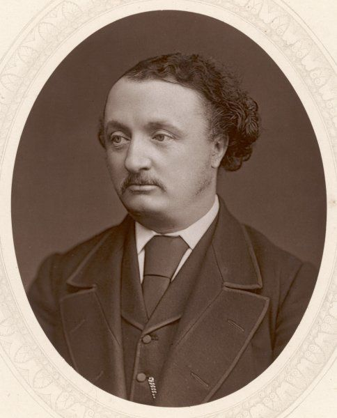 SIR JOHN STAINER composer, notably of 'The Crucifixion&#39