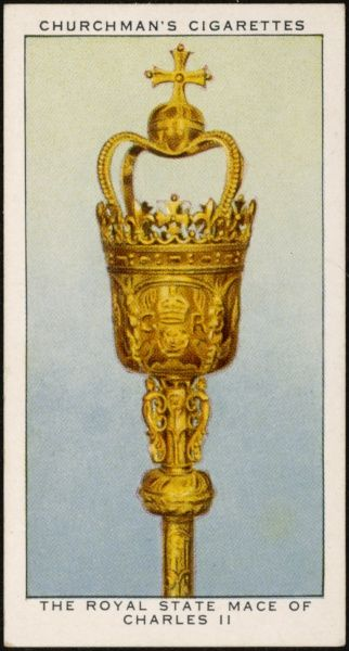 CROWN JEWELS OF ENGLAND The Royal State Mace of Charles II