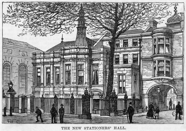 The new Stationers Hall : here, a century or so later, the Mary Evans Picture Library will celebrate its first forty years