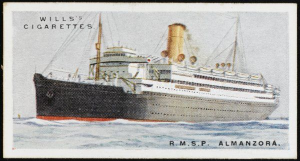 Royal Mail Steam Packet Company liner on the South American run