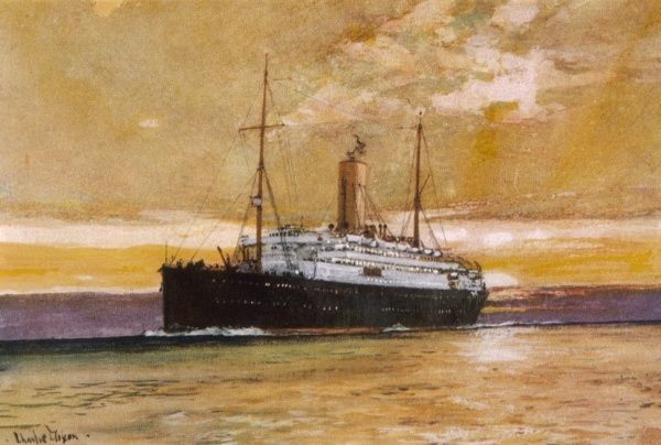passenger liner of the Royal Mail Steam Packet Company