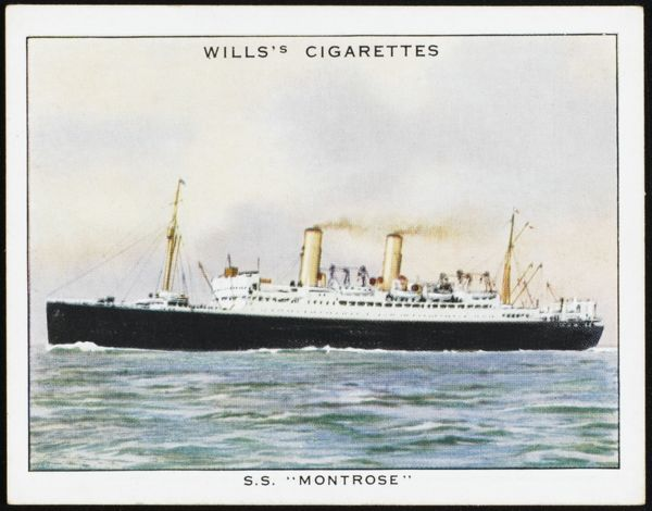 Passenger ship of the Canadian Pacific line, sailing between Europe and Canada
