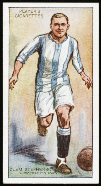 Clem Stephenson, player for Huddersfield Town