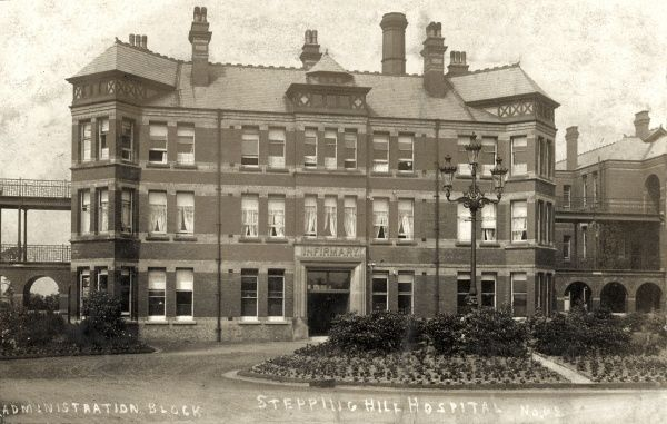 Administration block of Stepping Hill Hospital, Stockport