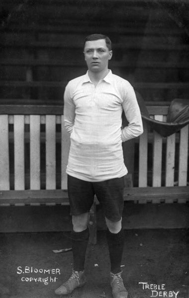 Steve Bloomer (1874-1938), English footballer and manager