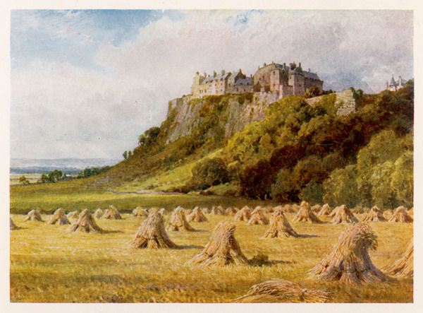 Stirling Castle, from the King's Knot