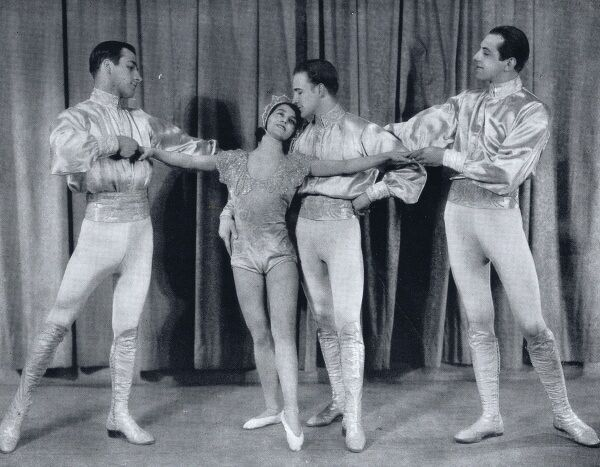 Stone and Vernon Four in the Ambassadeurs show of 1930, Paris Date: 1930