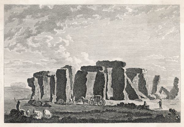 A rather naive view of Stonehenge and visitors to the site