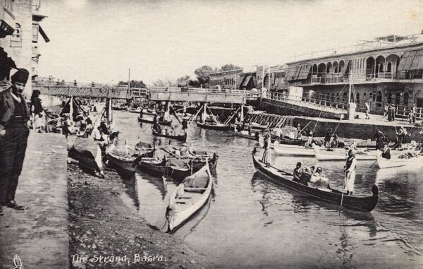 The Strand - Basra, Iraq, WWI era Date: circa 1910s