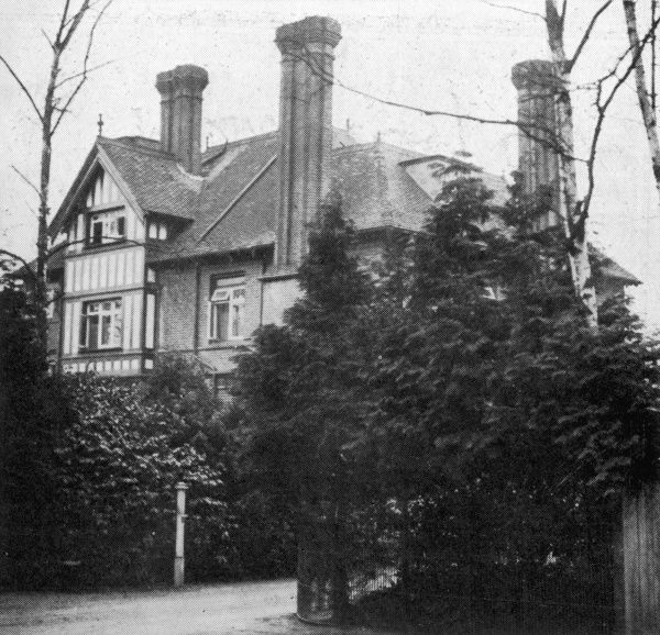 Photograph showing 'The Styles', Sunningdale, 1926. This was the home of Agatha Christie and her first husband, Colonel Archie Christie