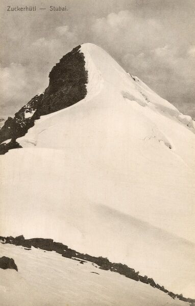 Summit of Zuckerhutl ('Sugarloaf') Mountain at Stubal, Austria Date: circa 1910s