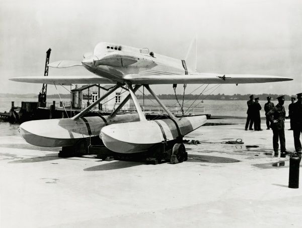 Supermarine S5 with Lion VIIB, for 1927 Schneider Trophy competition Date: 1927