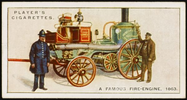 Merryweathers' Sutherland fire-engine, which gained first prize at the international contest at the Crystal Palace. The engine continued in use for 27 years