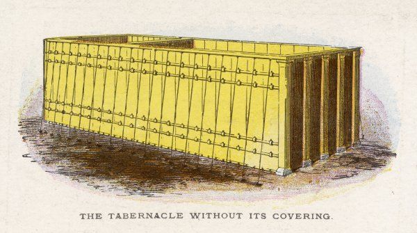 Ceremonial objects : THE TABERNACLE WITHOUT ITS COVERING