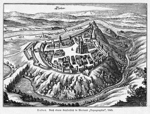 Founded by Hussite leader Zizka, this was a protestant stronghold during the Hussite wars of the 15th century