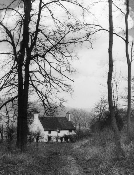 Tanner's Hatch Youth Hostel, remotely situated, on the edge of Ranmore Common, Surrey, England. A very popular hostel, especially during the Winter months. Date: 1950s