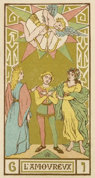Image result for tarot card lovers
