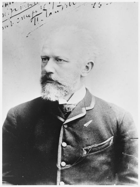 PYOTR ILICH TCHAIKOVSKY Russian composer in 1890