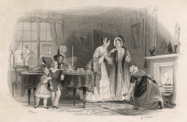 A visitor receives a 'genuine welcome', with tea ready on the table, and the fire stoked to a frenzy by the housemaid