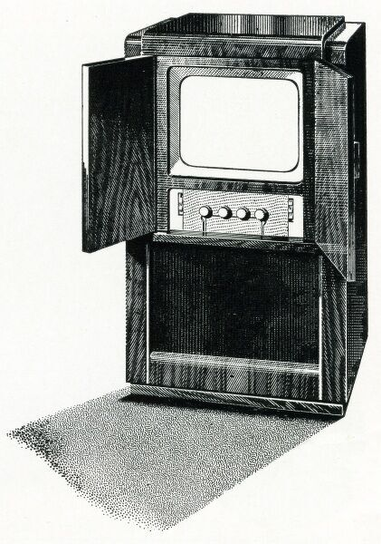 Television console Date: 1952