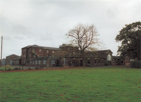 A view of the former Tendring Union Workhouse at Tendring Heath in Essex. The building was designed by George Gilbert Scott and William Bonython Moffatt. Date: 2000